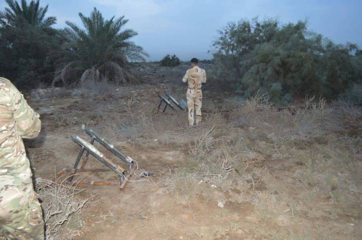 he 54th Brigade has seized 10 Rockets ready to launch in Al Bakrea area (1)