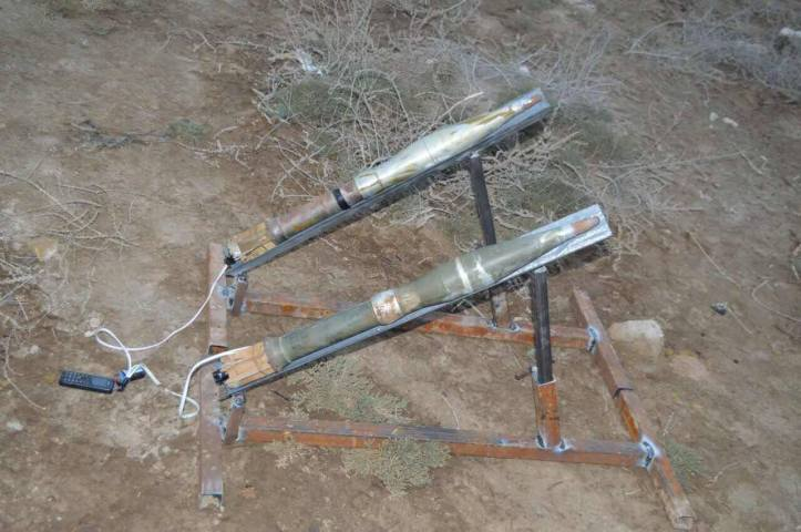 he 54th Brigade has seized 10 Rockets ready to launch in Al Bakrea area (2)