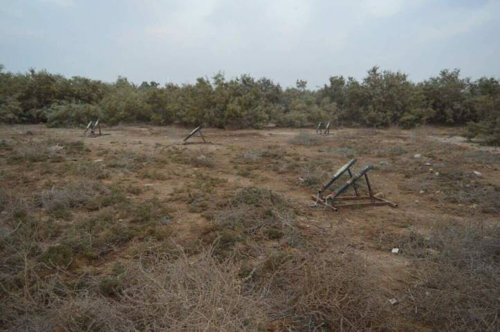 he 54th Brigade has seized 10 Rockets ready to launch in Al Bakrea area (4)