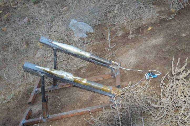 he 54th Brigade has seized 10 Rockets ready to launch in Al Bakrea area (5)
