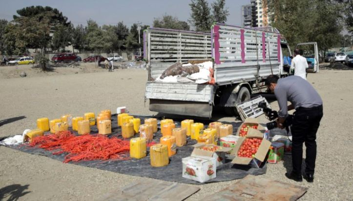 Afghan Police Stop Truck Filled With Explosives, Foil Kabul Attack httpdlvr.itPvgTXN @VOANews2