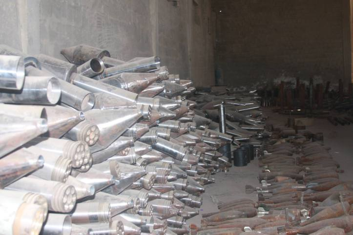 Found the largest factory to manufacture bombs and rockets in Fallujah (8)