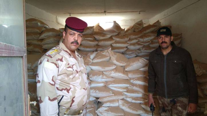 Iraq 3000 bags of urea fertilizer (3)