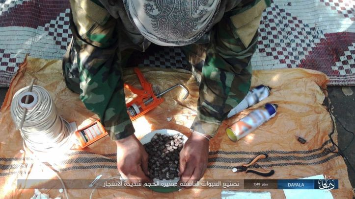 IS, Wilayat Diyala, issues photo report on manufacturing IEDs (3)