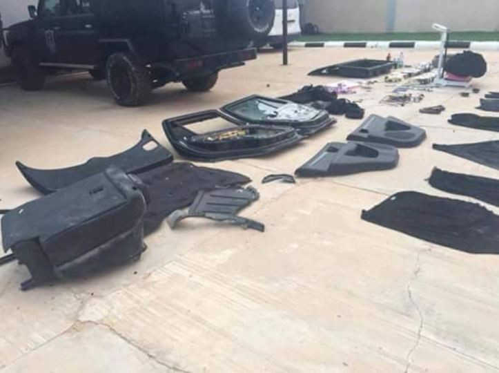 #Libya Failed to detonate device, allegedly packed w154kg of explosives, visually 12 PRB M3 = 81.6kg #ISIS #Misrata (1)#VBIED that failed to detonate outside #Misrata courthouse #ISIS al