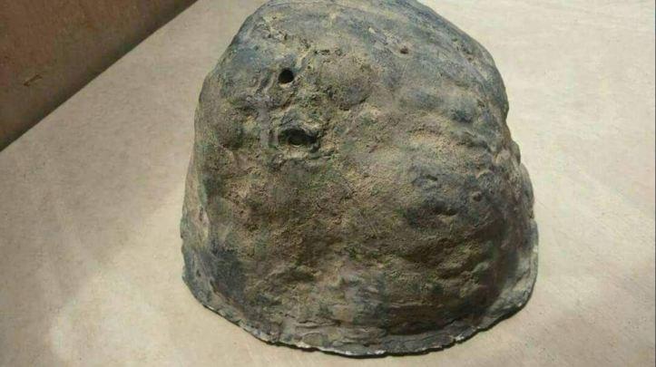 stone IED in yemen