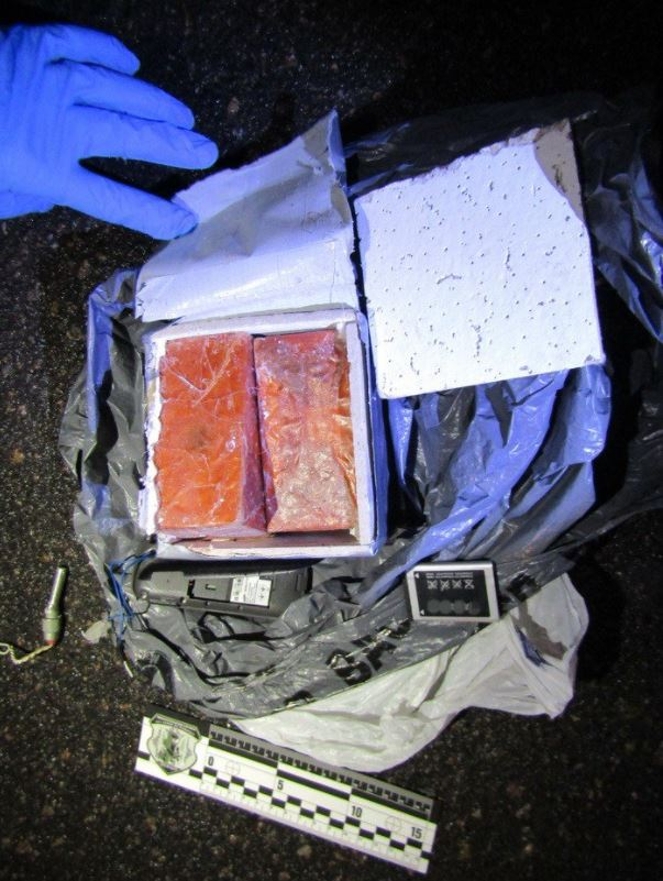 Ukrainian authorities seize IED from individual accused of plotting terrorist attacks in Luhansk (1)