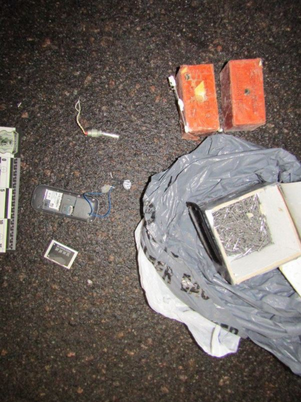 Ukrainian authorities seize IED from individual accused of plotting terrorist attacks in Luhansk (2)