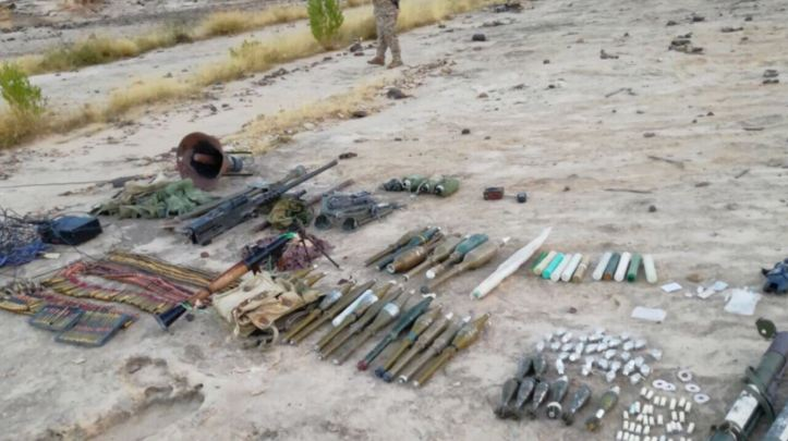 After clashes against Houthi in Saada province, Yemen, Pro-Hadi forces captured IEDs, explosive components used in making IEDs, and various weapons and ordnance including Iranian ATGM De