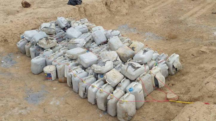 East Anbar Operations Command has seized an ammunition cache in Al-Karma district (1)