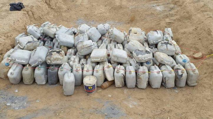 East Anbar Operations Command has seized an ammunition cache in Al-Karma district (2)