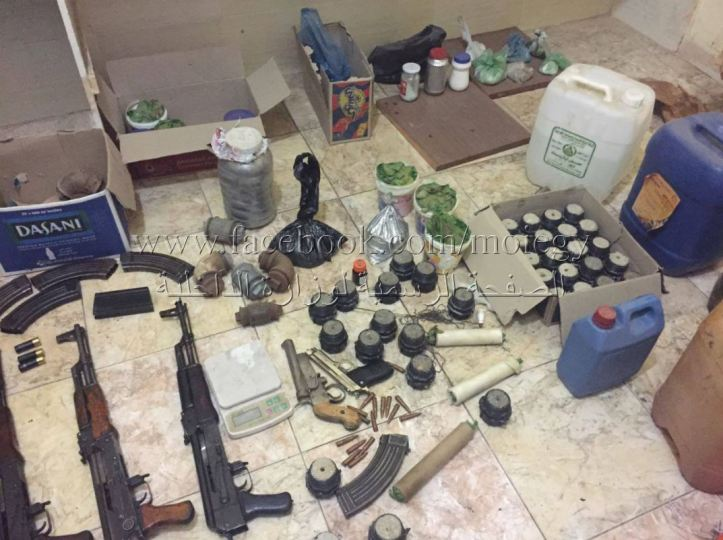 #Egypt- police kills 11 militants in #Ismailia, discover weapons, IED making materiel, other equipment meant to attack vital installations in #Sinai, including Christian worship places t