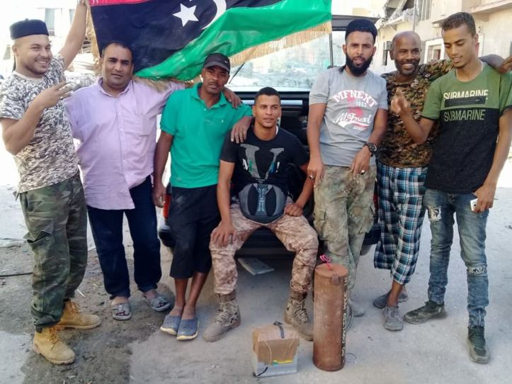 #IED rendered safe in a big de-mining effort yesterday in #Benghazi, #Libya (3)