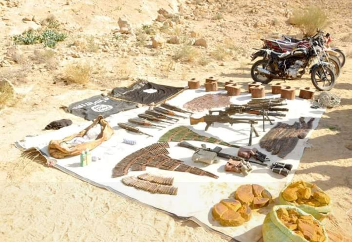 One of the most important military operations for army in #Sinai, was the operation of clearing Mount Halal from terrorist elements ,its results was killing(18) terrorist ,arrest (31) ot
