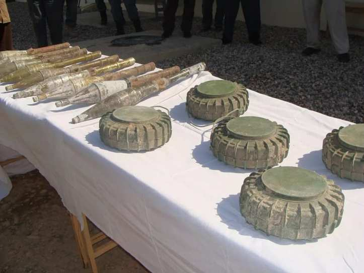 Police seized these Ammunition from deference Area of Mazar-e- Sharif..2