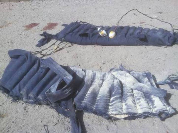 Three Female Suicide Bombers Intercepted In Gamboru Town, Borno State. Two killed after refusing to remove their IED vests, one held for interrogation. (1)