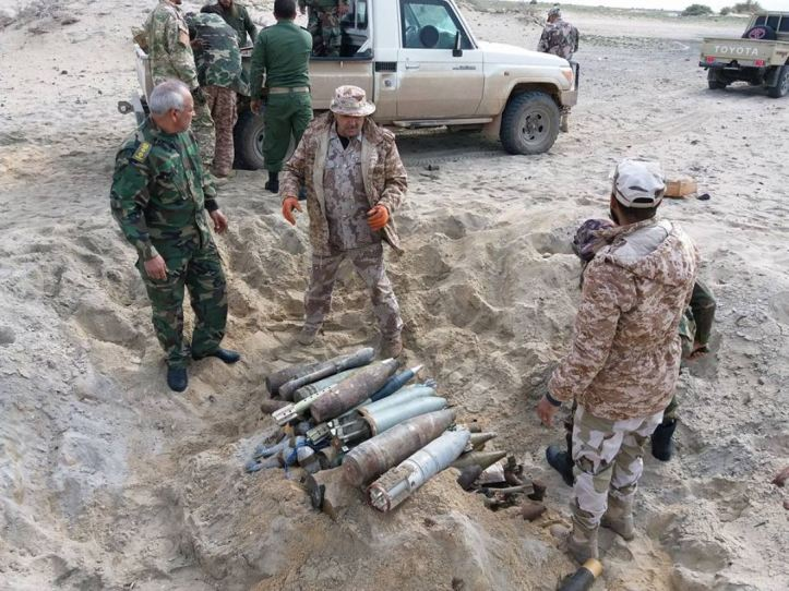31-Jan-18 Controlled destruction of 3 tons of explosive material out in the desert near #Benghazi by The Mine Action & Mine Remnants Ops Team and 120 Spec Ops (2)