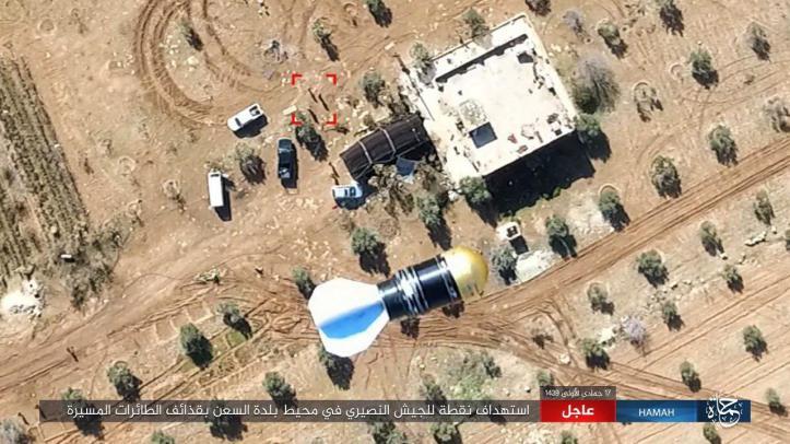 drone Idlib