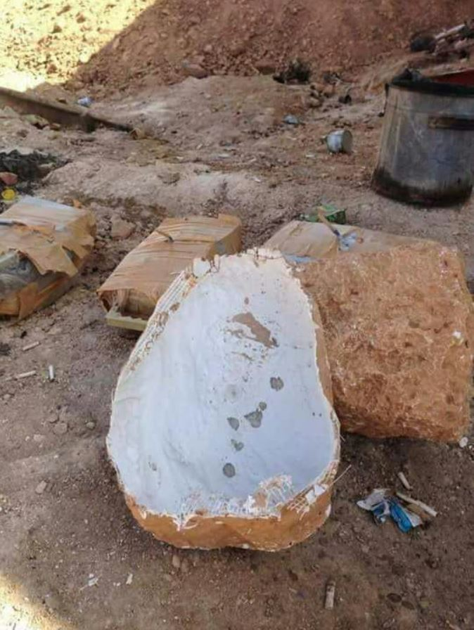 IEDs captured near Tall Al Hajar, Syria (2)