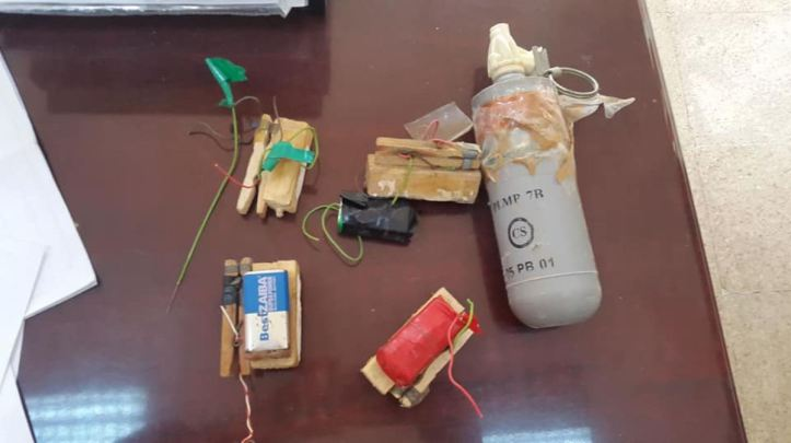 Some recent clothes peg-based victim-operated #IED triggers firing switches recovered in #Benghazi, #Libya (1)