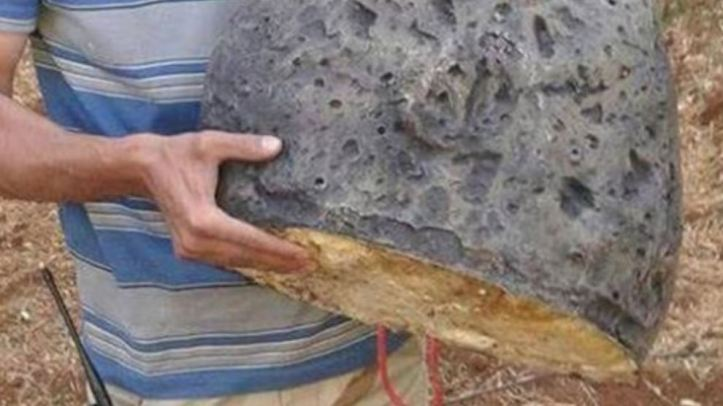 Syria stone IED