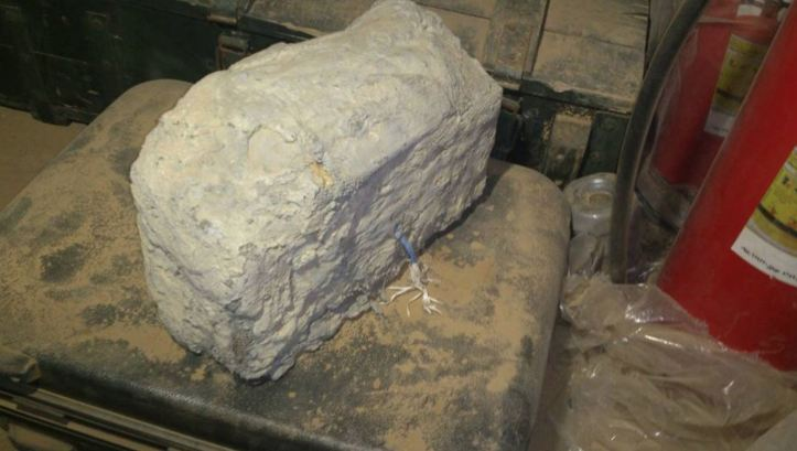 Syrian stone IED 5