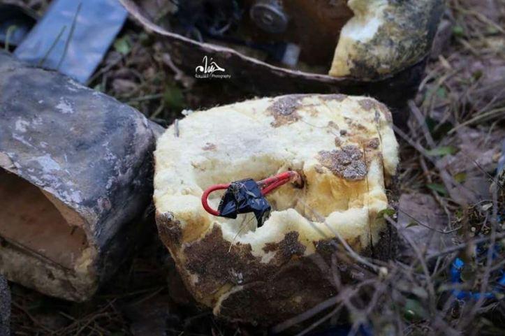 Taiz stone IED