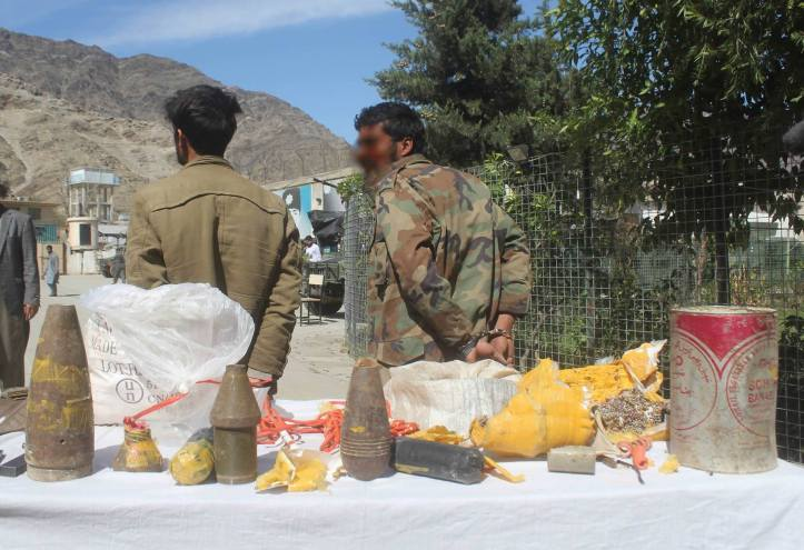Taliban_s IED Experts Arrested in Kunar Province