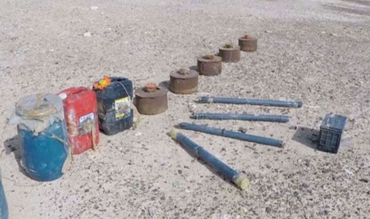 Egypt IEDs captured 2018 march