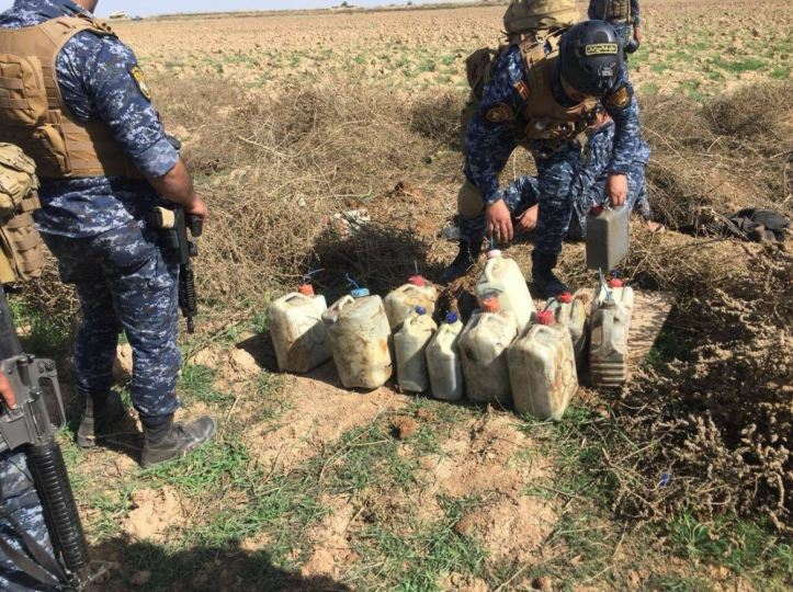 Found by #Iraq's Federal Police in the Hawijah countryside in Kirkuk (1)