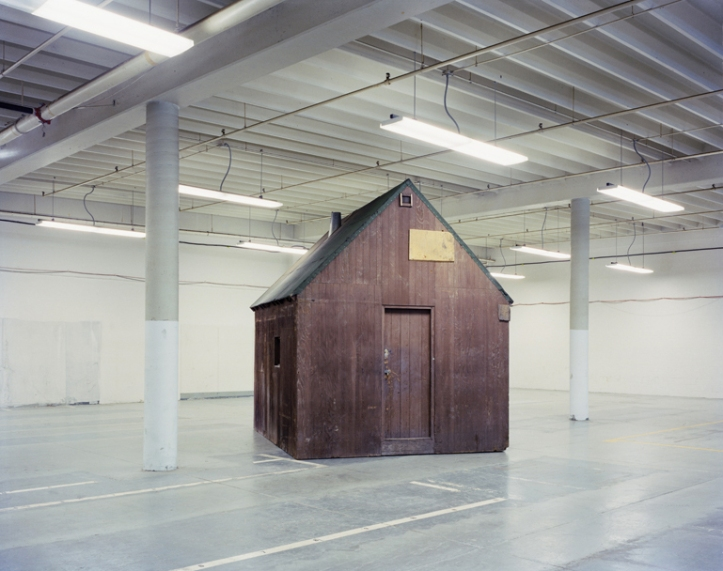 shed Unabomber-Cabin-in-Storage
