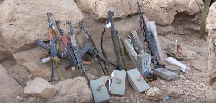 Some interesting weapons captured from Houthi forces in Midi (1)