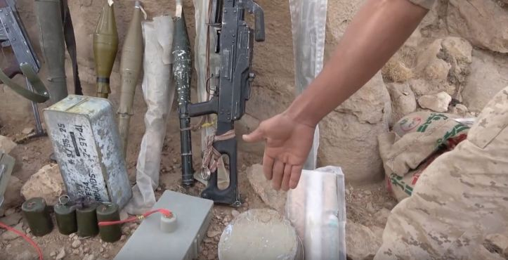 Some interesting weapons captured from Houthi forces in Midi (2)