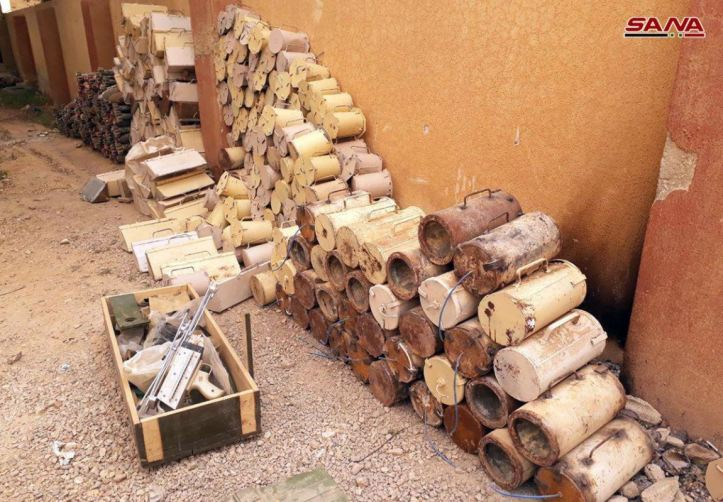 Syria IEDs captured