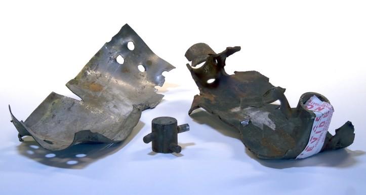Unabomber Bomb Shrapnel - by Federal Bureau of Investigation