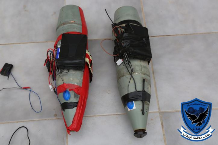 Tripoli_s Abu Salim militia today posted photos of 2 IEDs which it said were found near the HQ of #GNA's ministry of justice (1)