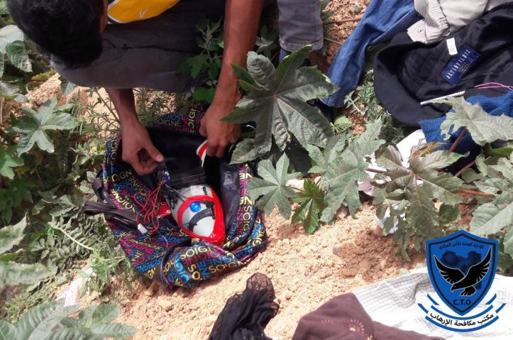 Tripoli_s Abu Salim militia today posted photos of 2 IEDs which it said were found near the HQ of #GNA's ministry of justice (2)