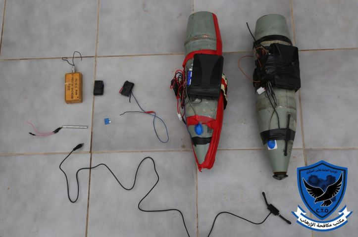 Tripoli_s Abu Salim militia today posted photos of 2 IEDs which it said were found near the HQ of #GNA's ministry of justice (3)